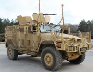 AmSafe Bridport's Tarian RPG Armour System on Show at DSEi - Image of Tarian to Armoured Vehicle