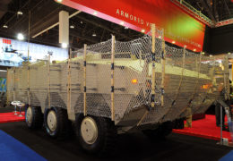 AmSafe's Tarian RPG Armour System Makes Middle Eastern Debut at IDEX 2013 - Image of Tarian
