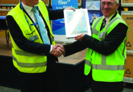 AmSafe Bridport gains KLM Cargo Supplier Award and a 5 year contract to supply Lightweight Nets