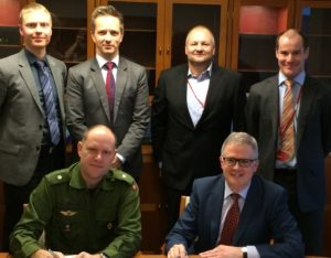 AmSafe Bridport Awarded 7 Year Contract to Supply its Tarian® RPG Armour System to the Danish Armed Forces