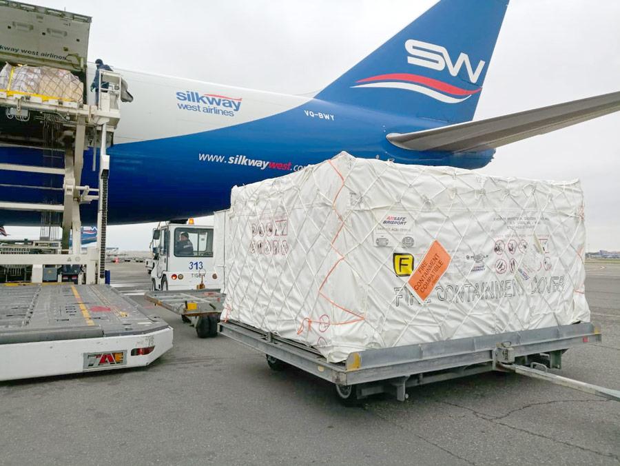 Silk Way West Airlines & Mantle